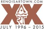Artown 2o year logo