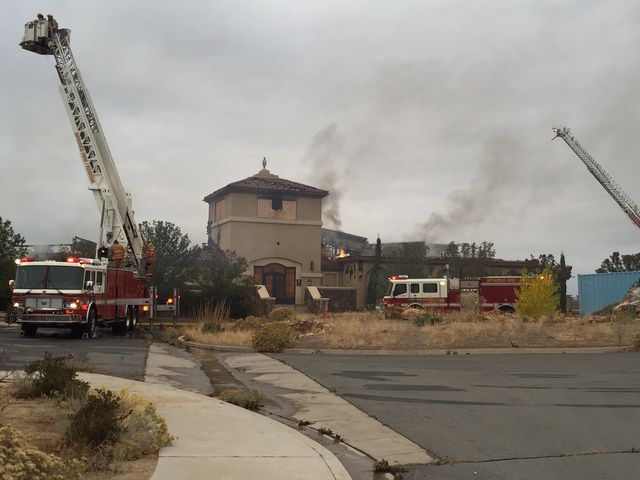 Marcella Corona/RGJ The clubhouse at the D'Andrea Golf Course in Sparks was destroyed by a fire Wednesday morning.
