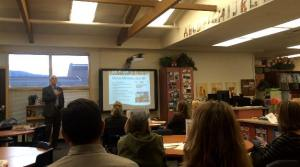 WCSD COO Pete Etchart discusses the state of our schools and facilities at the Hunsberger PTA meeting.